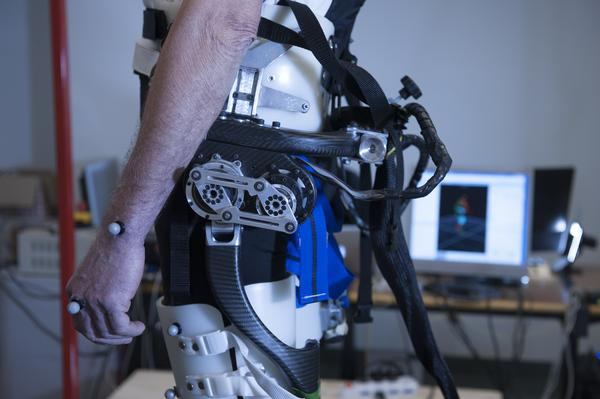 a powered exoskeleton prevents