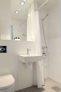 One Room Small Bathroom Designs