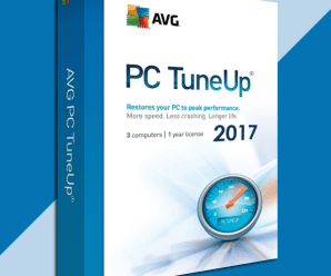AVG PC TuneUp 2018 Serial Key