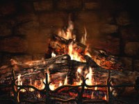 animated wallpaper: Fireplace Animated Wallpaper