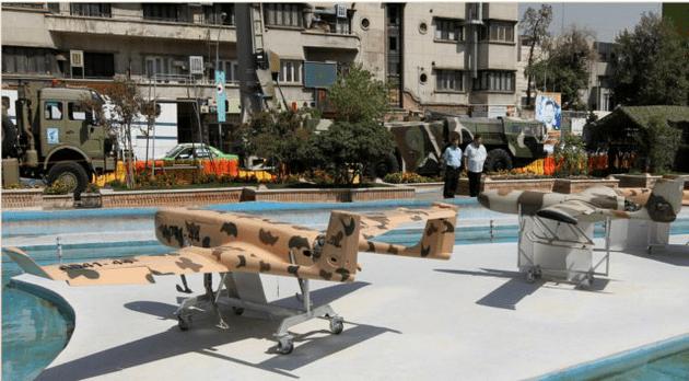 Irán planea equipar sus drones militares con misiles