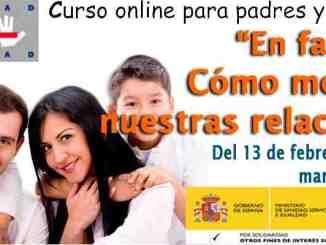 """Curso de online gratuito para padres y madres: """"En familia, cómo mejorar nuestras relaciones""""."""