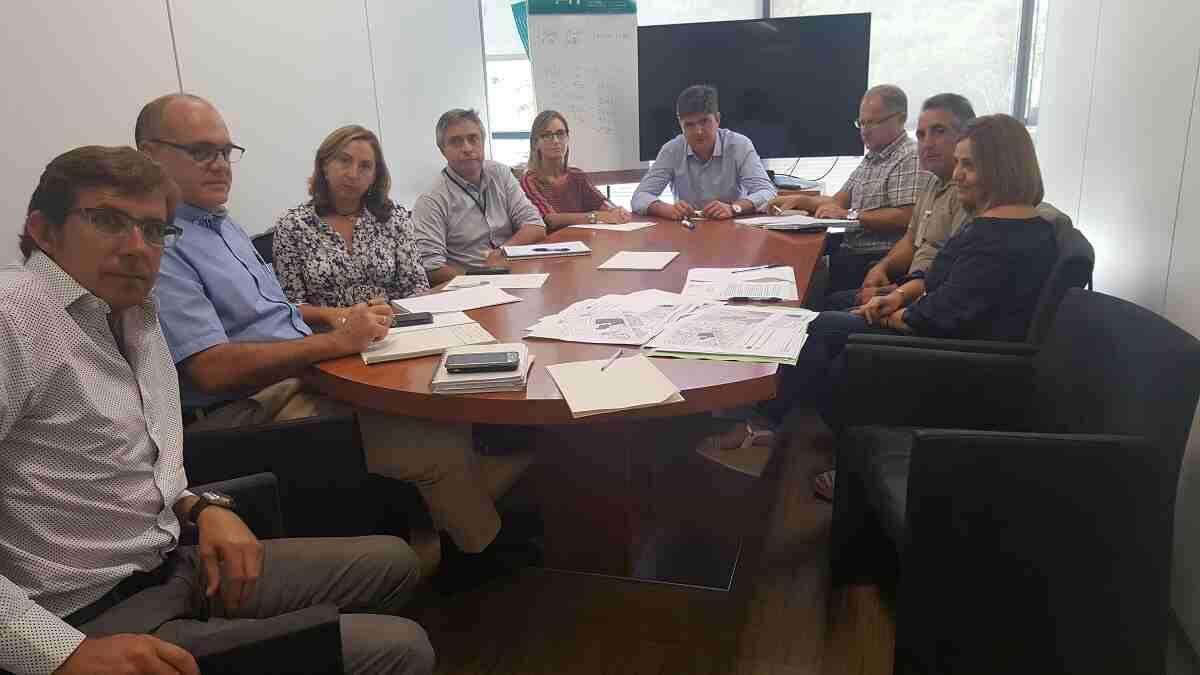 El Concejal de Medioambiente y Urbanismo del Ayuntamiento de Segorbe se reúne con las Consellerias
