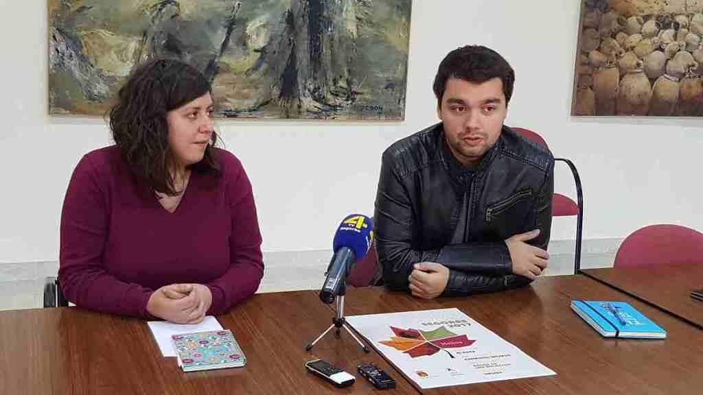 El Concejal de Juventud de Segorbe y la TASOC en rueda de prensa