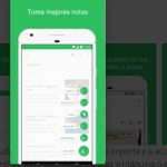 Siete apps notas android accesibles everNote