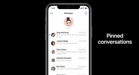 Captura de pantalla de la app salud en un iPhone en actualidad accesible