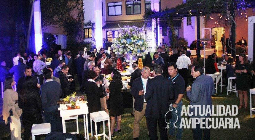 Trouw Nutrition organizó cóctel en la casa de la embajadora de Países Bajos
