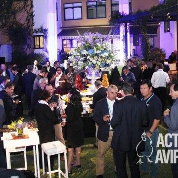 Trouw Nutrition organizó cóctel en la Residencia de la Embajadora de Países Bajos