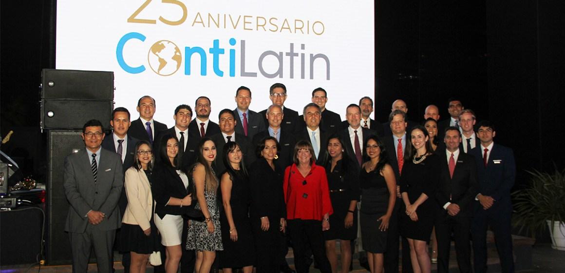 Contilatin celebró sus 25 años junto a sus clientes