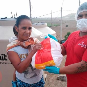 Redondos se solidariza en tiempos de cuarentena donando 15 toneladas de pollo