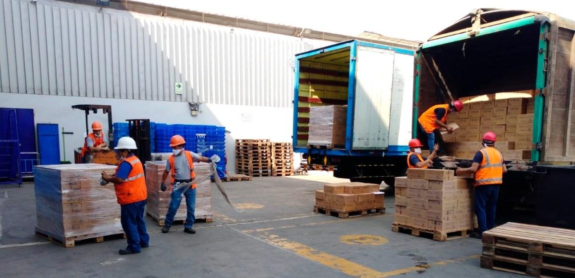 San Fernando colabora con 400 toneladas de alimentos con aporte proteico para poblaciones vulnerables