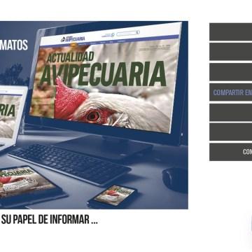 La Revista Actualidad Avipecuaria ahora al alcance de todos