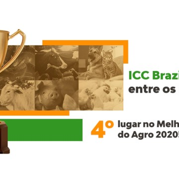 ICC Brazil entre las cuatro mejores empresas del sector de Nutrición Animal en Brasil