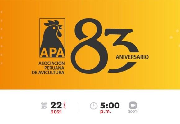 APA presentará el nuevo nombre  del Congreso Peruano de Avicultura 2021