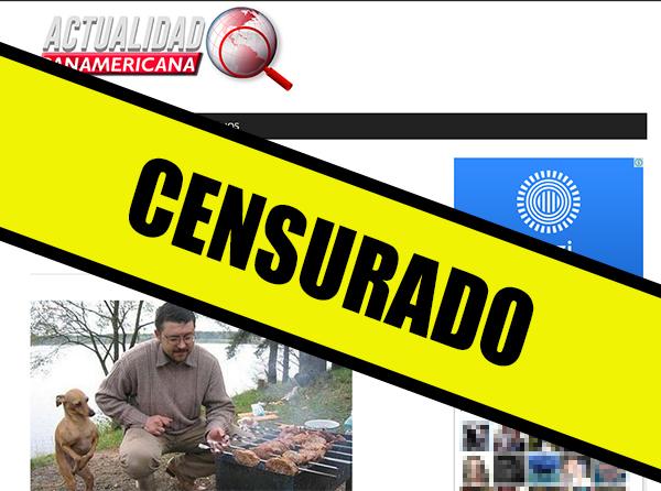 El portal Actualidad Panamericana ya no se ve en Venezuela