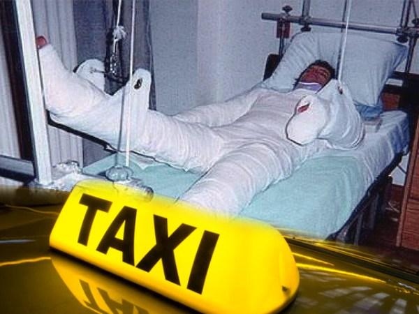 Don Uber recibió una incapacidad de 21 días, debido a las heridas contusas.
