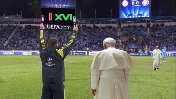Sale Francisco, entra Benedicto