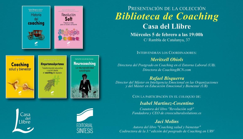 Presentación de la nueva colección Biblioteca Coaching