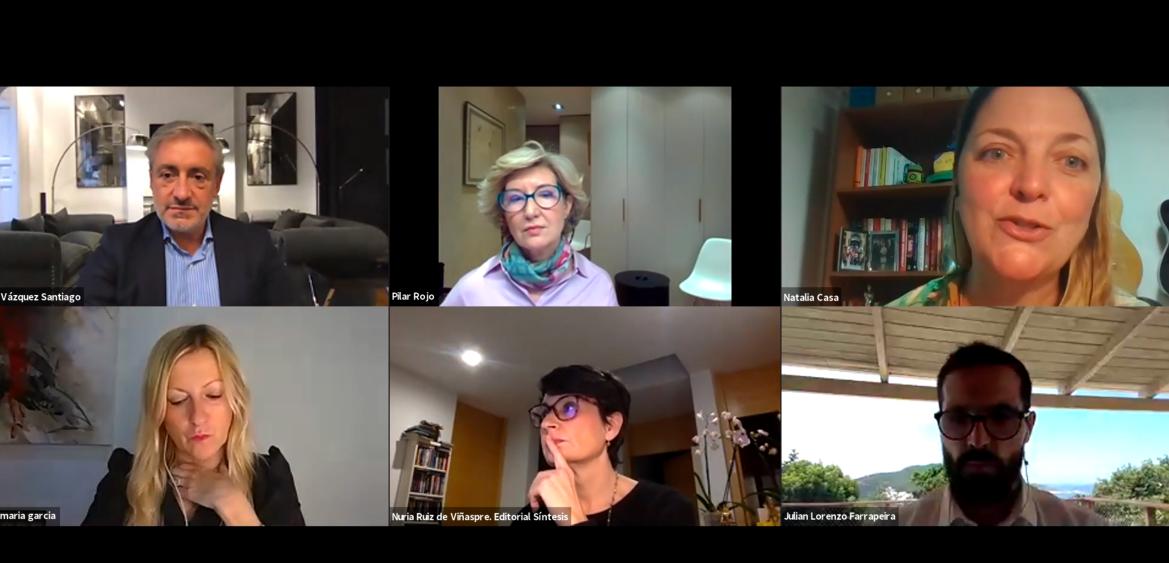 Presentación por zoom con los autores de Coaching Emergente