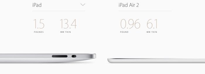 Apple presenta el iPad Air 2: todas sus novedades