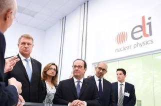 François Hollande a vizitat laserul ELI-NP de la Măgurele