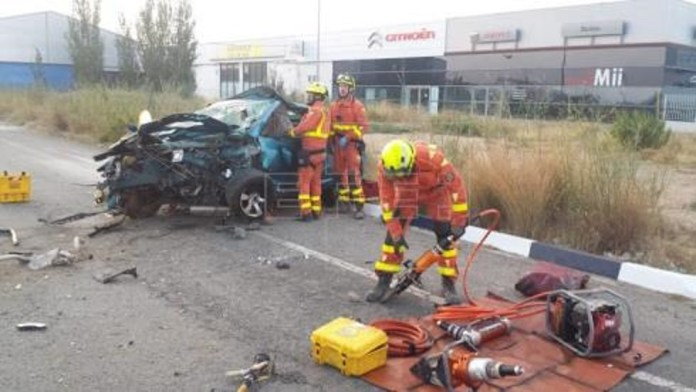 Accident Tràfic Quart de Poblet