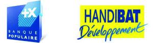 banque populaire handibat développement