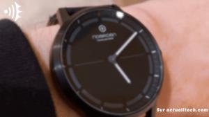 MATE2+ : une montre connectée élégante signée NOERDEN