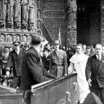 Messe à Notre-Dame pour l'anniversaire de la Libération de Paris