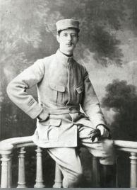 1915, le capitaine Charles de Gaulle (Coll. part.)