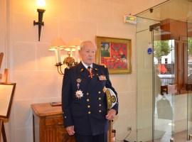 L'ingénieur général Bloch à Reims en juillet 2012