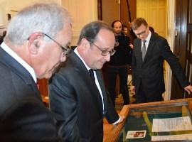 Visite du Président de la République François Hollande