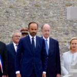 Le Premier ministre à Colombey-les-Deux-Églises