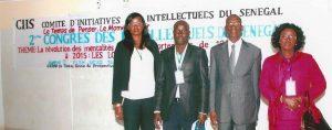 FUNIBER a participé au Congrès du Comité d'Initiative des Intellectuels au Sénégal