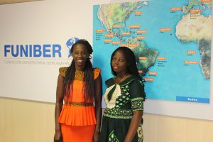 Des membres de FUNIBER Sénégal visitent le siège de FUNIBER en Espagne