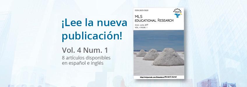 Le magazine MLS Educational Research, sponsorisé par FUNIBER, publie un nouveau numéro