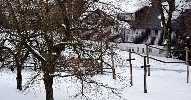 benecko, skiing trip, snek, czech republic