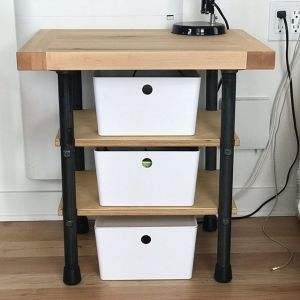 Bedside table rebuild