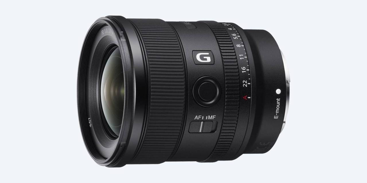 """Sony 20mm f / 1.8 G Review sur Photographyblog: """"objectif exceptionnel"""""""