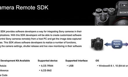 News: Sony Electronics annonce un nouveau kit de développement logiciel (SDK) pour les développeurs et intégrateurs tiers