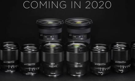 Nouvelles images des cinq cinq nouvelles lentilles Tokina E-moun
