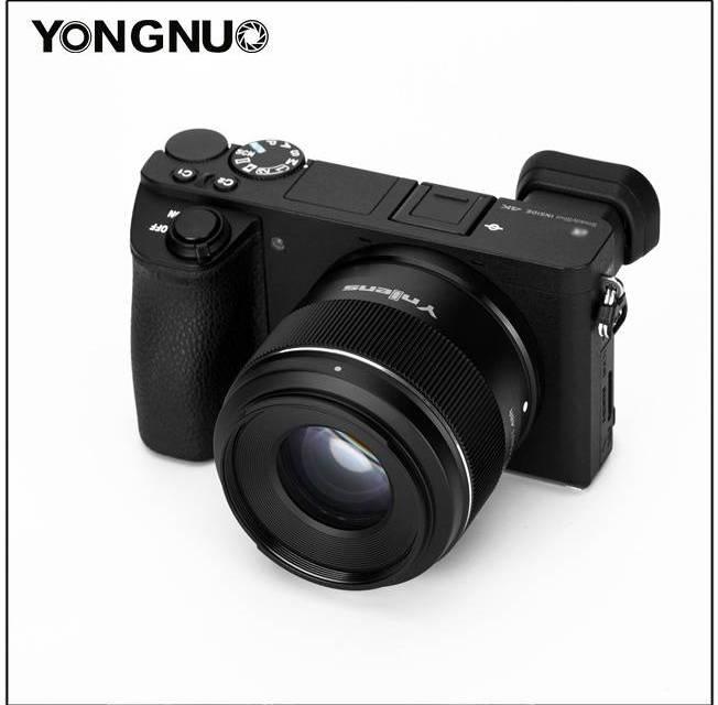 Yongnuo annonce le nouveau YN 50mm F/1.8S DA DSM pour monture E