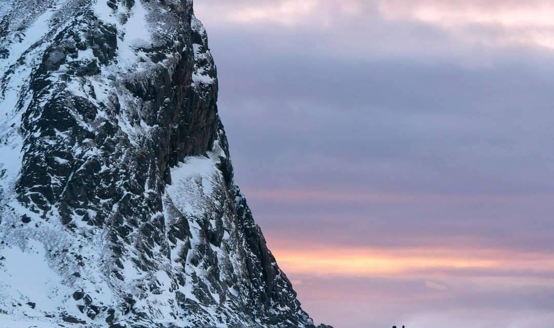 Eaux glaciales en Norvège