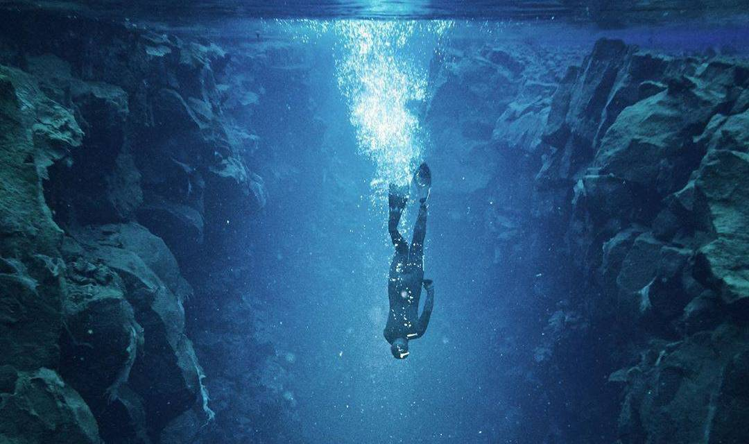 Spectaculaire photo de plongée par @stevint !!