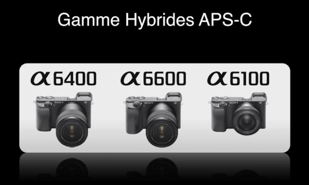 Vidéo Sony France : Présentation du système hybride Alpha