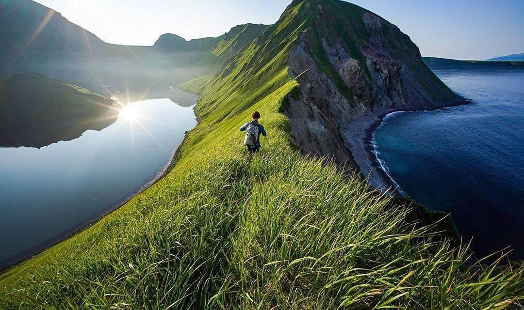 Expédition dans les îles Kouriles de Russie