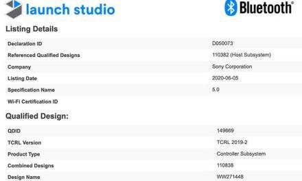 Le nouvel appareil photo Sony vient de passer le test de certification Bluetooth