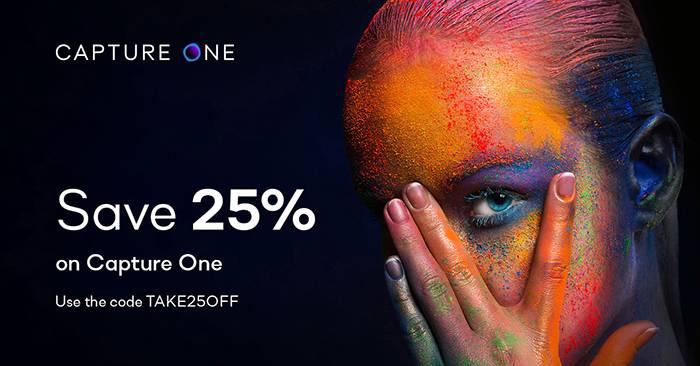 Économisez 25% sur Capture One pour Sony