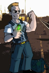 Agent Grayson: Corruption, abuse of legal authority, and superpowers - all in a day's work B-)