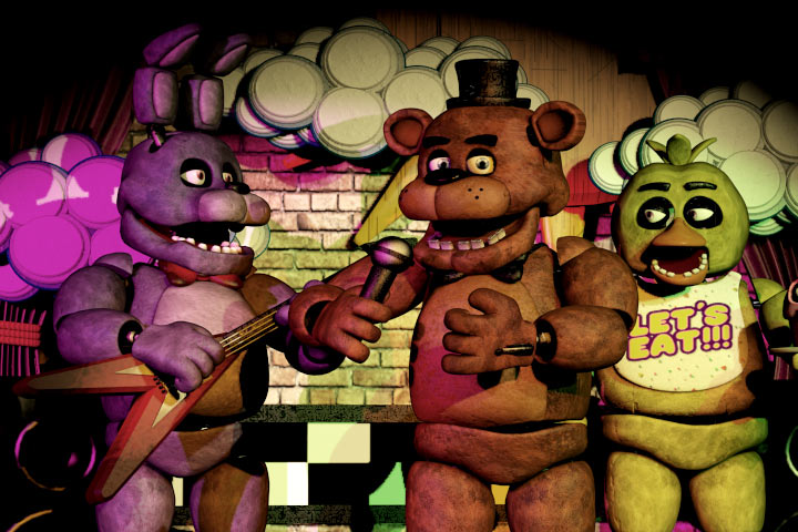 monsters and other childish things five nights at freddy s rppr